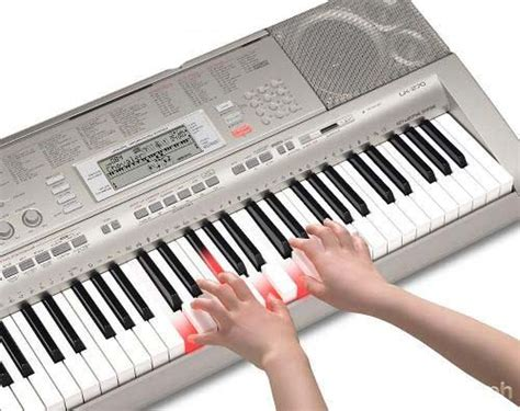 Keyboard Casio Lk 270 b 225 n 苣 224 n organ casio lk 270 ph 237 m s 225 ng ch 237 nh h 227 ng t盻ォ nh蘯ュt gi 225 r蘯サ