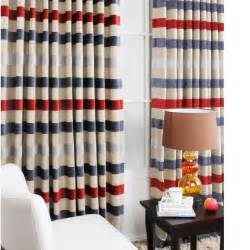 stripe blackout curtains rooms