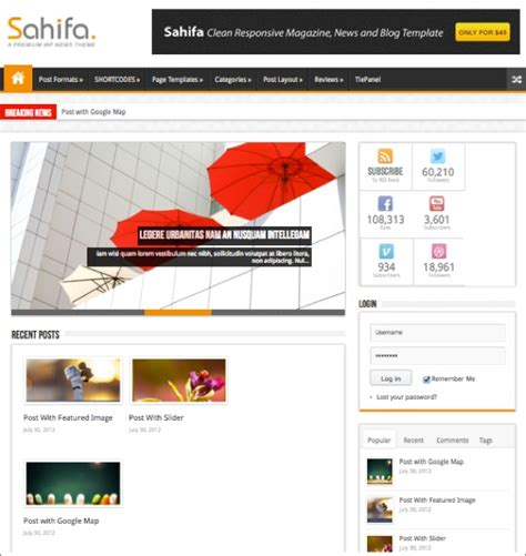 sahifa theme video 20 killer wordpress themes with layout builders