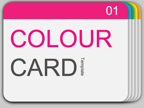 free powerpoint card templates coloured slides template background