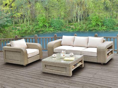 fauteuil de table 1411 salon de jardin kuopio en r 233 sine tress 233 e beige 3 1