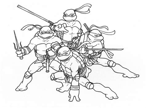 nick ninja turtles coloring pages coloring pages tmnt coloring pages pictures colorine