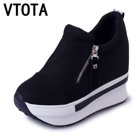 shoes for heels vtota casual platform shoes fashion high heels shoes