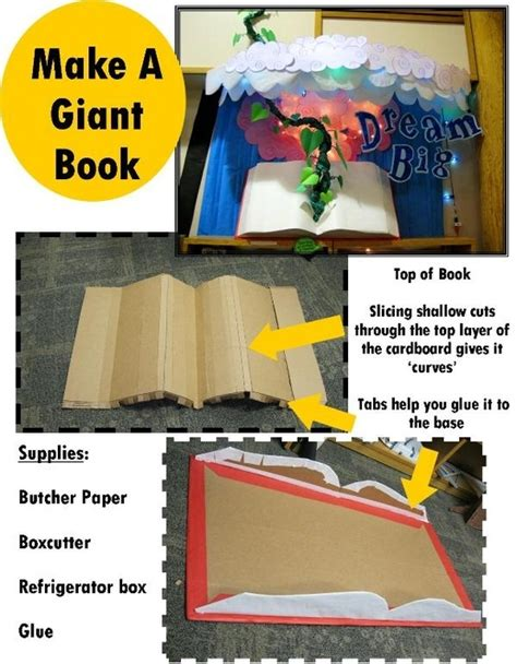 themes a book can have make a giant book bulletin board ideas