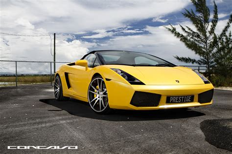 Lamborghini Gallardo Giveaway - lamborghini gallardo on 20 quot cw s5 matte black machined face yellow fever