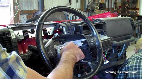 jeep xj steering wheel how to remove jeep wrangler steering wheel
