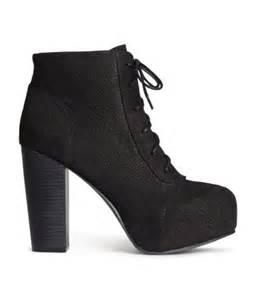 h m platform boots 19 95
