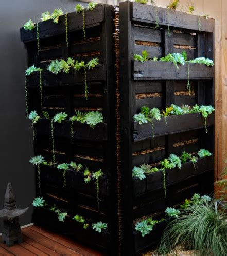 Vertical Garden Screen 15 Creative Ways To Hide Your Outside Air Conditioner
