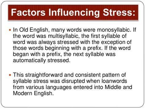stress pattern english language 10 syllable stress