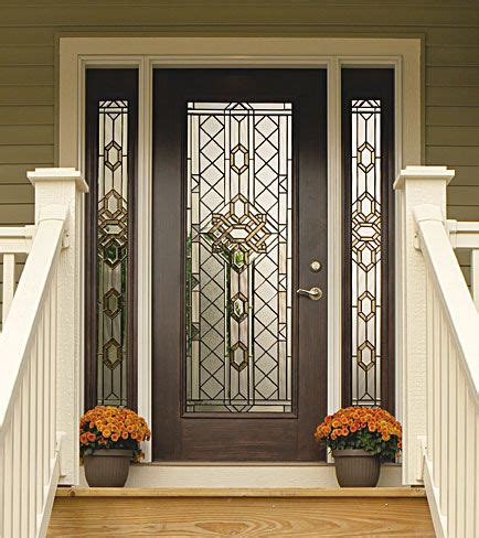 Decorative Front Doors Decorative Glass Insert Available Through Designer Glass Of Wny Www Designerglasswny Odl