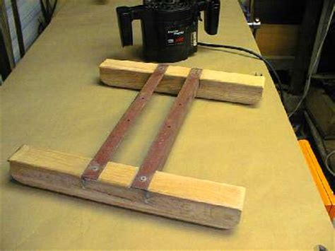Router Planing Sled Clamps For Woodworking Uk