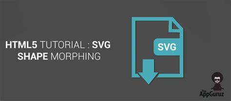 tutorial svg javascript svg shape morphing html5 tutorial
