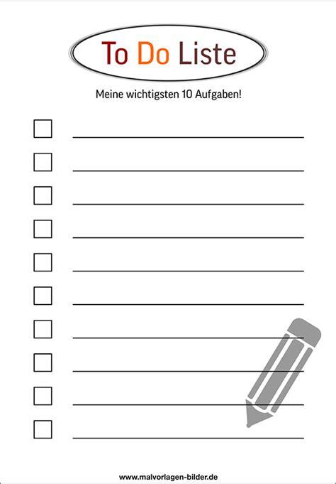 Word Vorlage Todo Liste to do liste vorlage kostenlos bullet