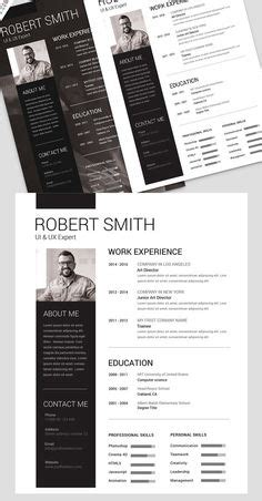 simple resume template vol 6 psd template architectural resume cv by my info cv template portfolio design and template