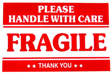 Reviews Of Kitchen Knives by Fragile Handle With Care Stickers Easy Peel Self
