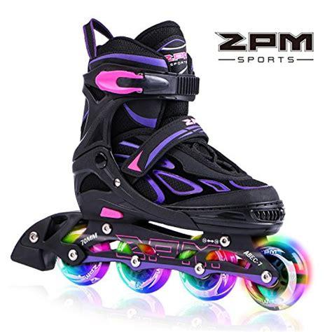 light up roller skates 2pm sports vinal adjustable inline skates