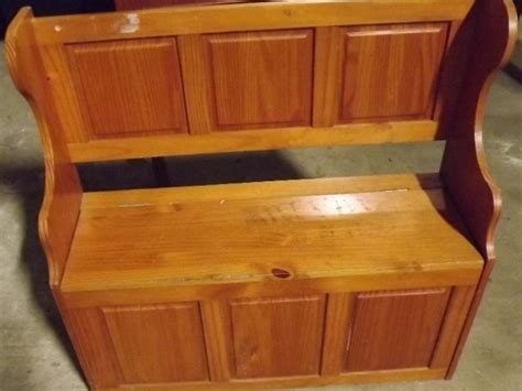pine bench seat with storage nice old antique style pine bench seat with storage box