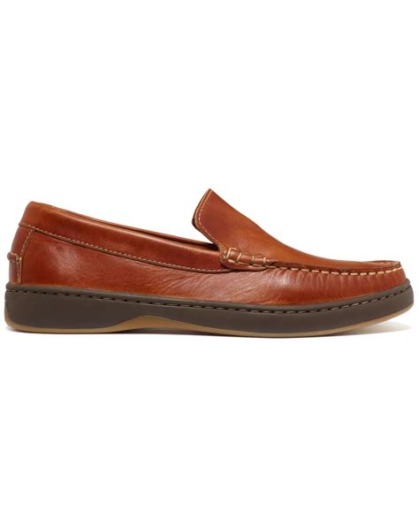 top sider loafers sperry top sider front venetian loafers in brown