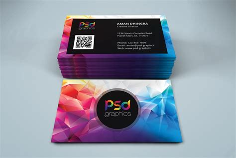 creative studio business card psd psd graphics