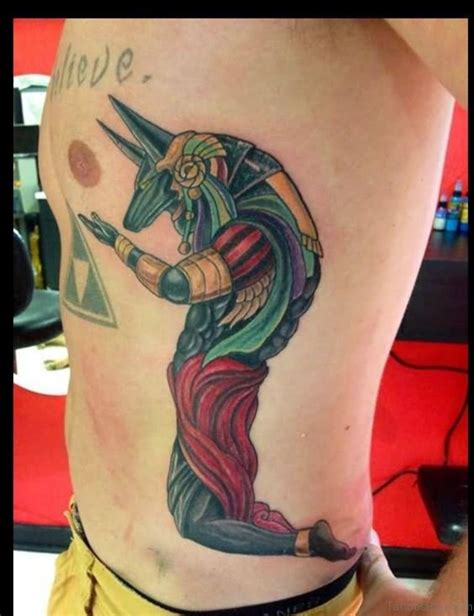 egyptian goddess tattoo 21 mind blowing tattoos on rib