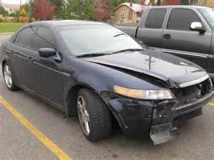 05 acura tl before being repaired by perry and terry auto
