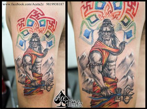 lord shiva mandala tattoo on arm ace tattooz