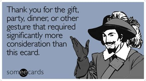 How Do Ecard Gift Cards Work - image gallery someecards dinner