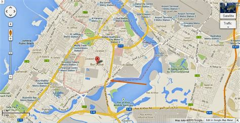 dubai location in world map uae dubai metro city streets hotels airport travel map