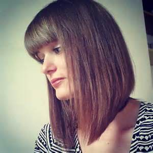inverted bob hairstyle with bangs photos inverted bob hairstyles 2016 with bangs
