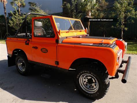 land rover defender 1970 1970 land rover series defender 2wd collector car