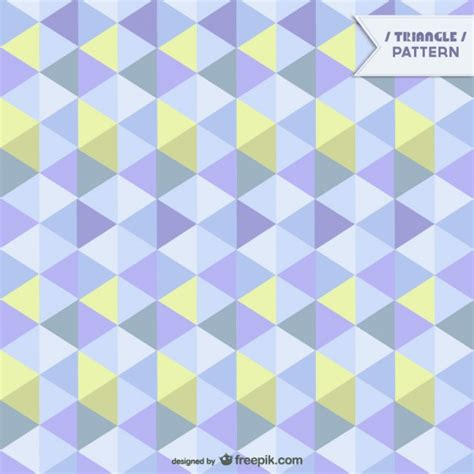 geometric pattern in blue geometric pattern in yellow and blue tones vector free