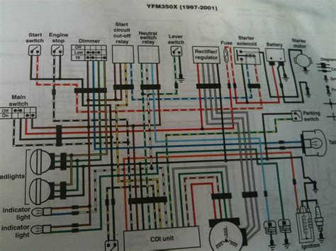 yamaha 350 warrior wiring diagram 12 vdc electrical wiring components 12 free engine image