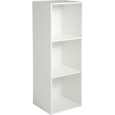 etagere 2 m etag 232 re 3 cases multikaz blanc h 103 2 x l 35 2 x p 31 7