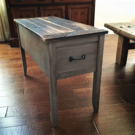 ana white barnwood narrow cottage  table diy projects