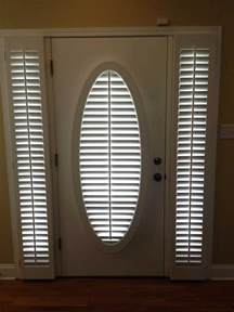 Wooden Shutters Interior Home Depot 26 good and useful ideas for front door blinds interior
