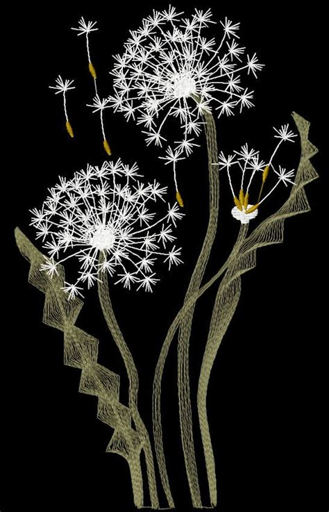 free applique designs for embroidery machine dandelions free embroidery design flowers free machine