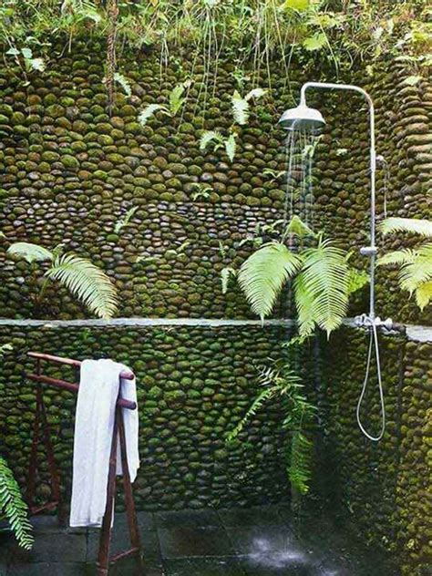 the outdoor shower 30 cool outdoor showers to spice up your backyard