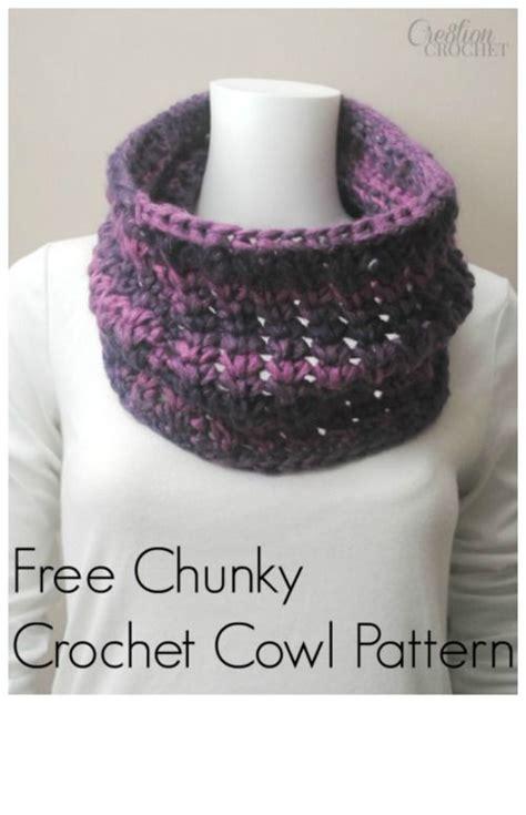 cowl pattern chunky yarn free chunky crochet cowl pattern using infinity yarn in