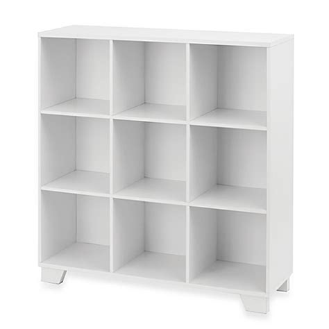 white cube shelving real simple 174 9 cube storage unit in white bed bath beyond