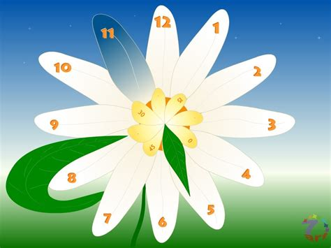 themes clock flower happy winter christmas clock screensaver