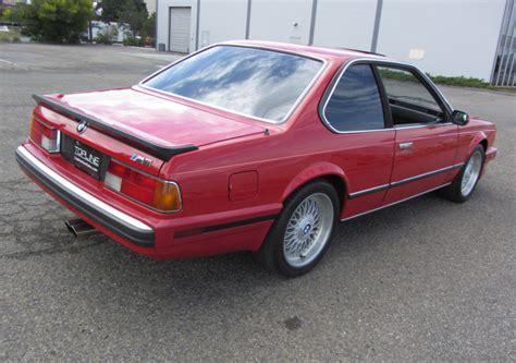 1988 bmw m6 series 1988 bmw m6 german cars for sale blog