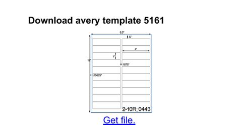 avery 5161 template great avery label 5161 template contemporary exle