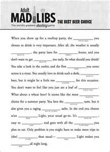 mad libs and book on pinterest