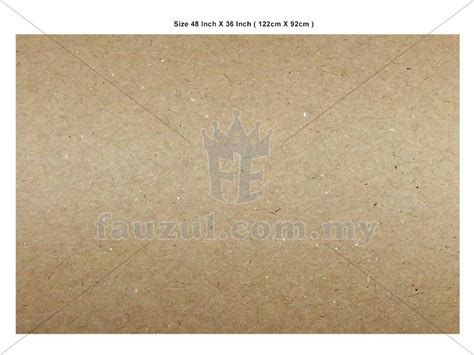 Brown Paper Craft - brown paper craft paper 10s 120g fauzul enterprise