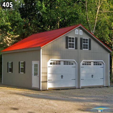 garage cupola 2 car 2 story garage horizon structures