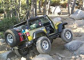Jeep Rubicon Trail Jeep Wrangler Rubicon On The Rubicon Trail With Caradvice