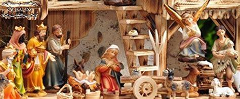 Set Anak By Mds Shop premium krippenfiguren 12 cm kfg mds mit deko 20 tlg
