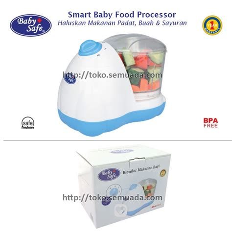 Blender Makanan Bayi Baby Safe baby needs jual baby safe smart baby food