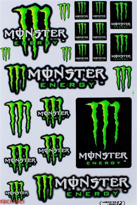 Monster Energy Aufkleber Gr N by Green Monster Energy Claws Sticker Decal Supercross By