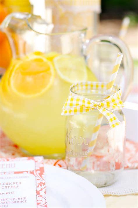 parties lemon party creative juice